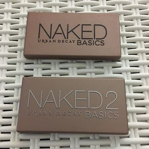 Gently Used Urban Decay Naked Basics 1 and 2